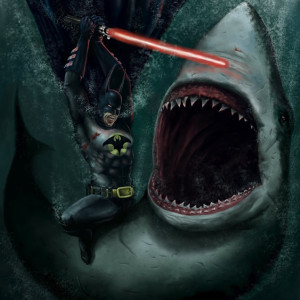 batman shark lightsaber